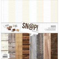 Sn@p! Color Vibe Basics Wood & Notebook